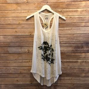 Haute Hippie In Pursuit Of Happiness Graphic Tank
